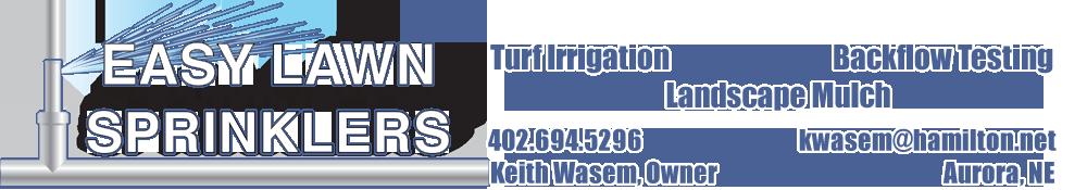 Easy Lawn Sprinklers Logo
